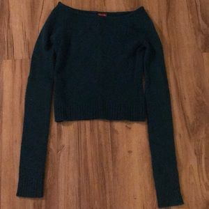 LUX blue sweater